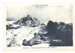 Hautes Alpes - 05 - La Grave Glacier Et Grand Pic De La Meije Oisans , Grimal 5067 Bis - Autres Communes