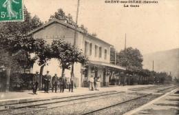 GRESY Sur ISERE     La Gare - Gresy Sur Isere