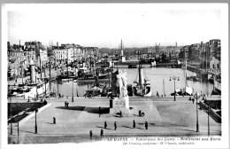 COLLECTION  CPA 76 SEINE MARITIME LE HAVRE Panorama Des Quais Monument Aux Morts (NV) - Port