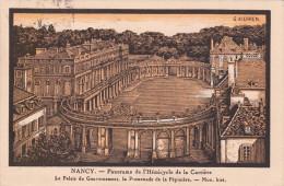 NANCY (54) - L'Hémicycle De La Carrière (illustration De G. Kierren) - Nancy