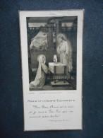 """IMAGE COMMUNION """"Marie-Thérèse HAREL - 1935 - Notre-Dame De PAVILLY"""" (BOUMARD R 5416) - Religion & Esotérisme"""