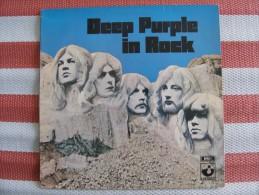 MUSIQUE - VINYL 33 TOURS - DEEP PURPLE - IN ROCK - LP - 1970 - UK EMI HARVEST SHVL 717 - TRES BON ETAT - Discos De Vinilo