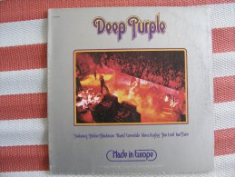 MUSIQUE - VINYL 33 TOURS - DEEP PURPLE - MADE IN EUROPE - LP - 1976 - EMI 2C068 98181 - TRES BON ETAT - Vinyles
