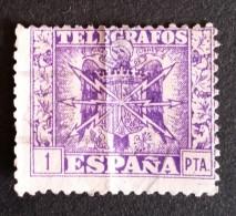 TIMBRE ESPAGNE N°    De 1949 - 1 PTA Telegrafos - OBLITERE - Colecciones