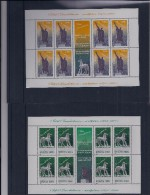 Belgie - Belgique 3308/09 Velletje Van 8 Postfris - Feuillet De 8 Timbres  -  Roemeense Uitgifte - Feuilles Complètes