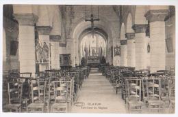 Cpsm Blaton   Intérieur église - Bernissart