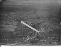 Pas De Calais Bucquoy Offensive Du 16/08/1918 Tranchées Fortifications Village Destructions 5 Photos Aériennes Ww1 Wk1 - War, Military
