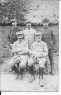 1915 Groupe D'officiers Français Trésoriers Payeurs Trésorerie Aux Armées 1 Carte Photo 1914-1918 14-18 Ww1 Wk1 - Guerre, Militaire