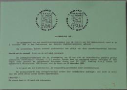 België 1993 Postdienst - Paffen Is Maf ! T'es Timbré De Fumer ! Anti-tabak Campagne - Tabac