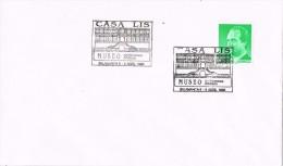 17028. Carta Exposicion SALAMANCA 1995. Casa LIS, Museo. Art Deco - 1931-Hoy: 2ª República - ... Juan Carlos I