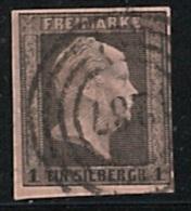 PRUSSE  Preußen  Freimarke N°2 - Prusse