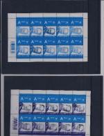 Belgie - Belgique 3316/17  In Velletje Van 10 Postfris - Feuillet De 10 Timbres  -  Koning Albert II - Feuilles Complètes