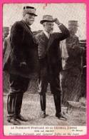 Le Président Poincaré Et Le Général Joffre Sur Le Front - Ph. BRANGER - Personnages