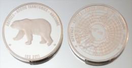 Arctique 10 Dollars 2011 Argent Pur .999 Animal Polaire - Monnaies