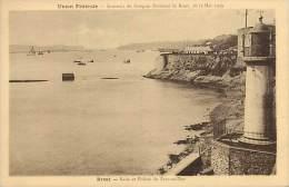 -departs Div.-ref-EE825- Finistere - Brest - Souvenir Congres National Mutiles ..18-22 Mai 1929 - Phare - Phares - - Brest