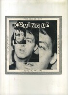 - MAC CARTNEY  . COMING UP  . 45 T. - Vinyles
