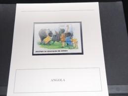 ANGOLA - Bloc Luxe Avec Texte Explicatif - Belle Qualité - À Voir -  N° 11487 - Angola