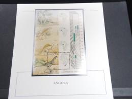 ANGOLA - Bloc Luxe Avec Texte Explicatif - Belle Qualité - À Voir -  N° 11488 - Angola