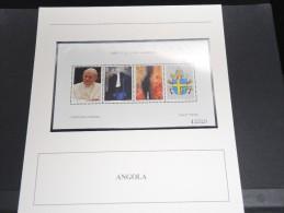 ANGOLA - Bloc Luxe Avec Texte Explicatif - Belle Qualité - À Voir -  N° 11489 - Angola