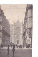 25612 -RENNES 35 France -Rue Bonne Nouvelle Eglise Saint Aubin Portail Est - 1107 GF Mary Rousseliere -