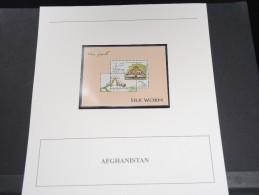 AFGHANISTAN - Bloc Luxe Avec Texte Explicatif - Belle Qualité - À Voir -  N° 11493 - Afghanistan
