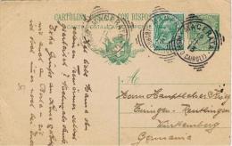 I+ Italien 1908 Mi 88 Viktor Emanuel III. (PK Stempel 12.11.13) - 1900-44 Vittorio Emanuele III