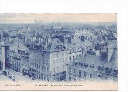 25618 -RENNES 35 France -un Coin Place Mairie -ed Ouest Eclair 88 -