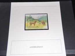 AZERBAIDJAN - Bloc Luxe Avec Texte Explicatif - Belle Qualité - À Voir -  N° 11496 - Azerbaïdjan