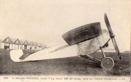 Le Monoplan  PONNIER Pilote Par Emile Vedrines - 1946-....: Ere Moderne