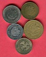 5 Monnaies Ttb 4,5 - Arménie