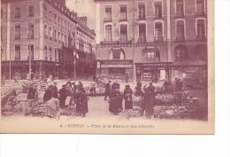 25626 -RENNES 35 France -place Mairie Rue D'estrées -4 Artaud -marché Fleurs -magasin Chaussures Incroyable -aubrée