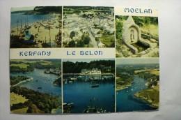 D 29 - Moelan - La Plage De Kerfany, Le Port De Belon  Et Le Port De Merrien - Moëlan-sur-Mer