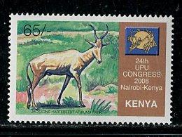 (cl.13 - P.17) Kenya ** Michel N° 816 (ref. Michel Au Dos) - Antilopes - - Timbres