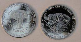 Bénin 1500 CFA 2003 Buffalo Buffle Animal - Benin
