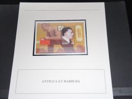 ANTIGUA Et BARBUDE - Bloc Luxe Avec Texte Explicatif - Belle Qualité - À Voir -  N° 11499 - Antigua Et Barbuda (1981-...)