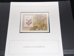 ANTIGUA Et BARBUDE - Bloc Luxe Avec Texte Explicatif - Belle Qualité - À Voir -  N° 11500 - Antigua Et Barbuda (1981-...)