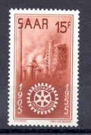 SARRE. AÑO 1955. Mi 358. (MH) - 1947-56 Protectorate