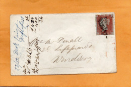 Great Britain 1852 Cover Mailed - 1840-1901 (Victoria)