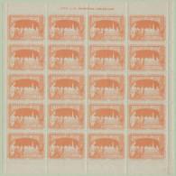 Exposition 1897 Bruxelles (volledig Blad 20 Zegels - Zie Scans) - Ohne Zuordnung