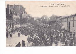 25633 -RENNES 35 France -place Des Lices, Jour Marché -121 Andrieu