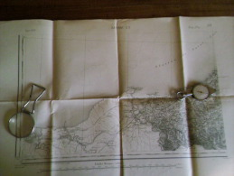 BAYONNE .S.O.carte Topographique De 1889 N°226 /3 - Topographical Maps