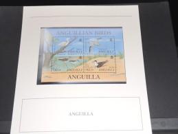 ANGUILLA - Bloc Luxe Avec Texte Explicatif - Belle Qualité - À Voir -  N° 11503 - Anguilla (1968-...)