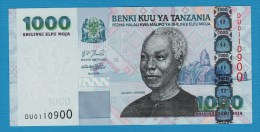 TANZANIA 1000 Shilingi  ND (2006) # DU0110900   P# 36b  President Julius Kambarage Nyerere - Tanzania