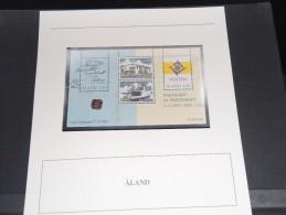 ALAND - Bloc Luxe Avec Texte Explicatif - Belle Qualité - À Voir -  N° 11504 - Aland