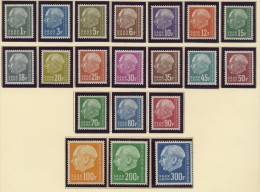 SARRE. AÑO 1957. Mi 409/428. (MNH) - 1957-59 Federation