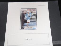 AITUTAKI - Bloc Luxe Avec Texte Explicatif - Belle Qualité - À Voir -  N° 11505 - Aitutaki
