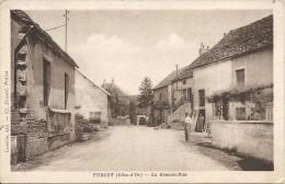 TURCEY. LA GRANDE RUE - France