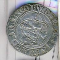 MONNAIE CHARLES VIII BLANC AUX CORONNELLES # A LA COURONNE - 987-1789 Geld Van Koningen
