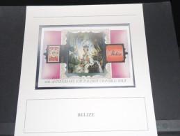 BELIZE - Bloc Luxe Avec Texte Explicatif - Belle Qualité - À Voir -  N° 11507 - Belize (1973-...)
