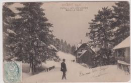 Cantal :  LE  LIORAN    Sous  La  Neige - France